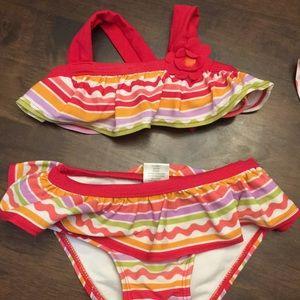 Gymboree Swim - Baby Girl 5 pc lot Gymboree swim 6-12 Months 